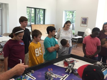 Robotics Team training